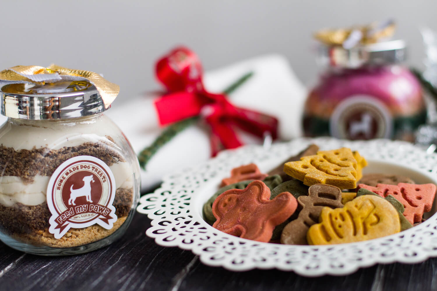 Feed My Paws Christmas Treats | Vanillapup