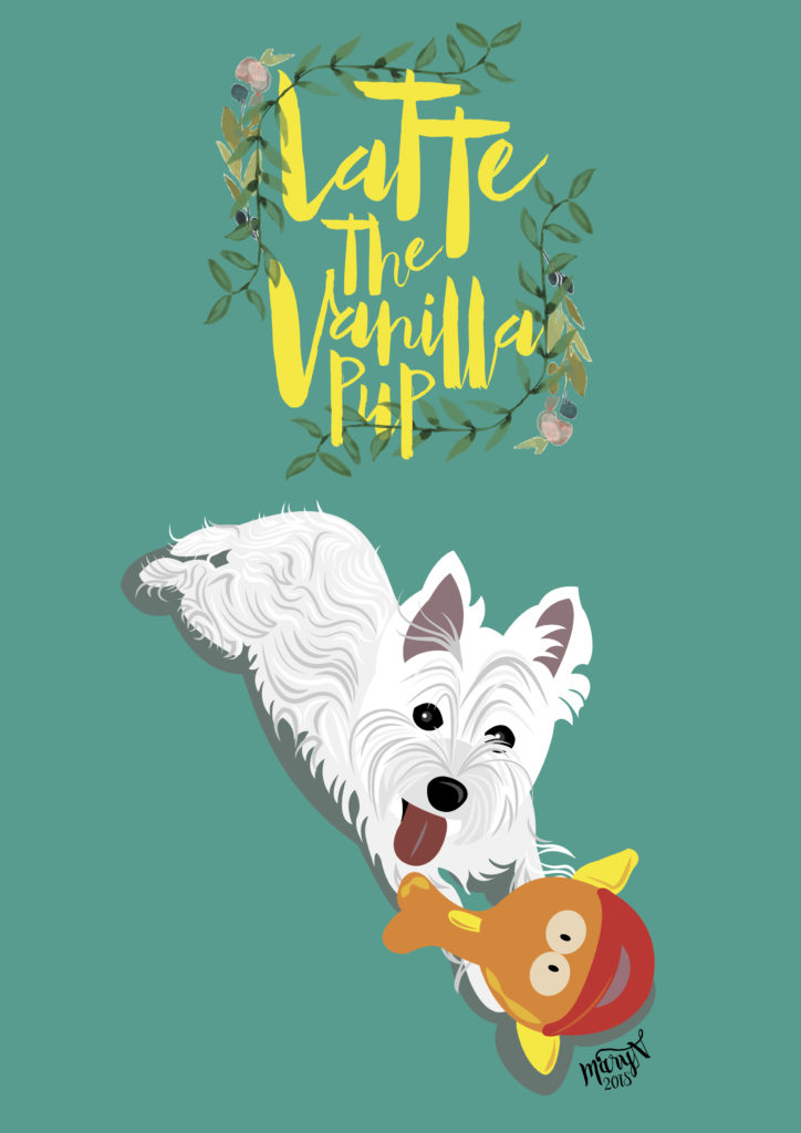 Customised Pet Portrait by MaryN Draws | Vanillapup