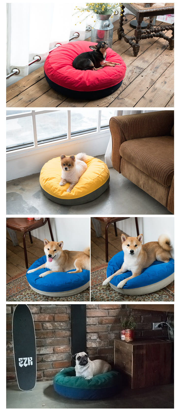 Wooof Fleepy Dog Bed | Shop Vanillapup