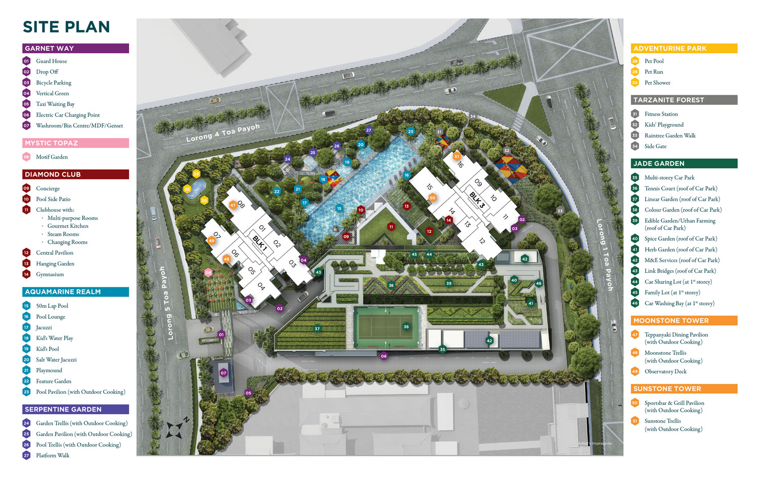 Gem Residences Site Plan | Vanillapup