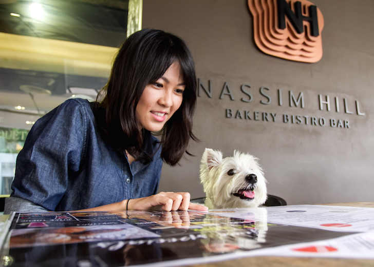 Nassim Hill Dog-friendly Cafe | Vanillapup