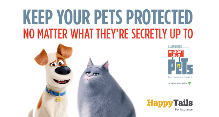 Secret Life of Pets Movie Happy Tails Giveaway | Vanillapup