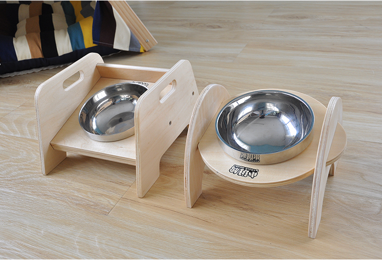 Taobao Little Dove Elevated Dog Bowl | Vanillapup