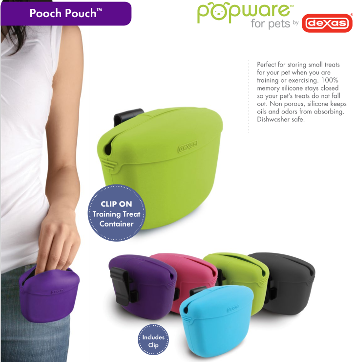 popware For Pets Treat Pouch | Vanillapup