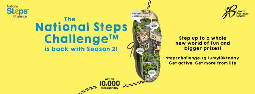 Health Promtion Board National Steps Challenge Season 2