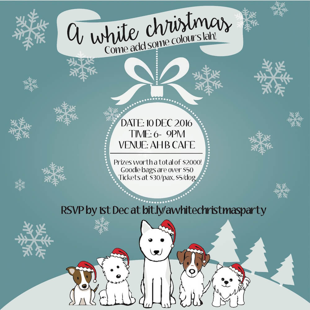 A White Christmas Party for Dog Lovers | Vanillapup