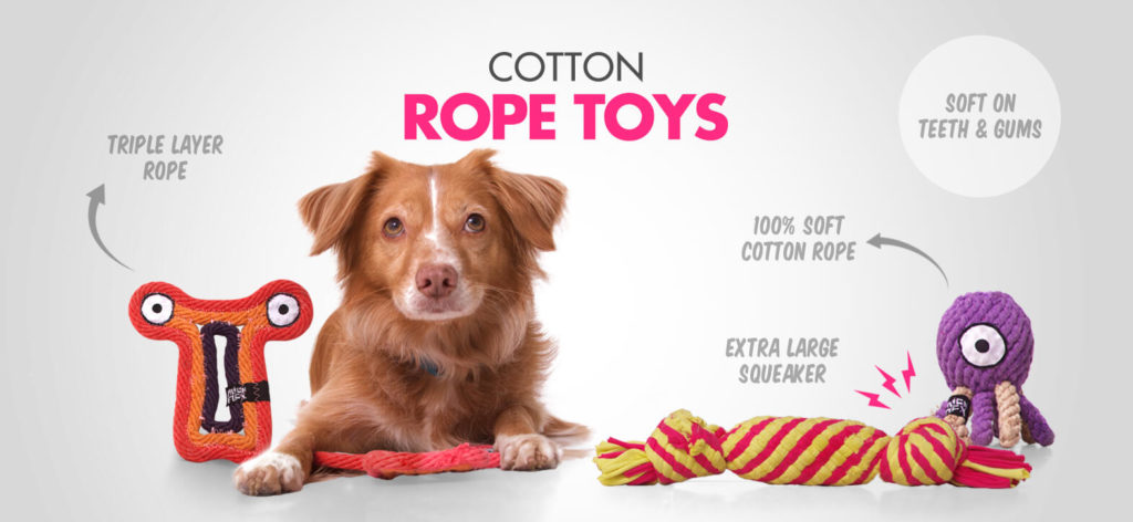 Alien Flex Cotton Rope Toys