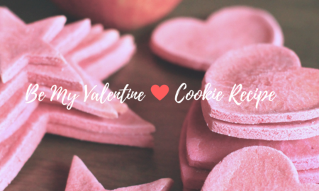Be My Valentine Cookies Recipe for Dogs | Vanillapup