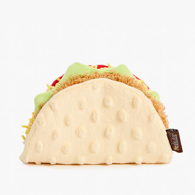 Tito's Taco BarkShop Plush Toy for Dogs
