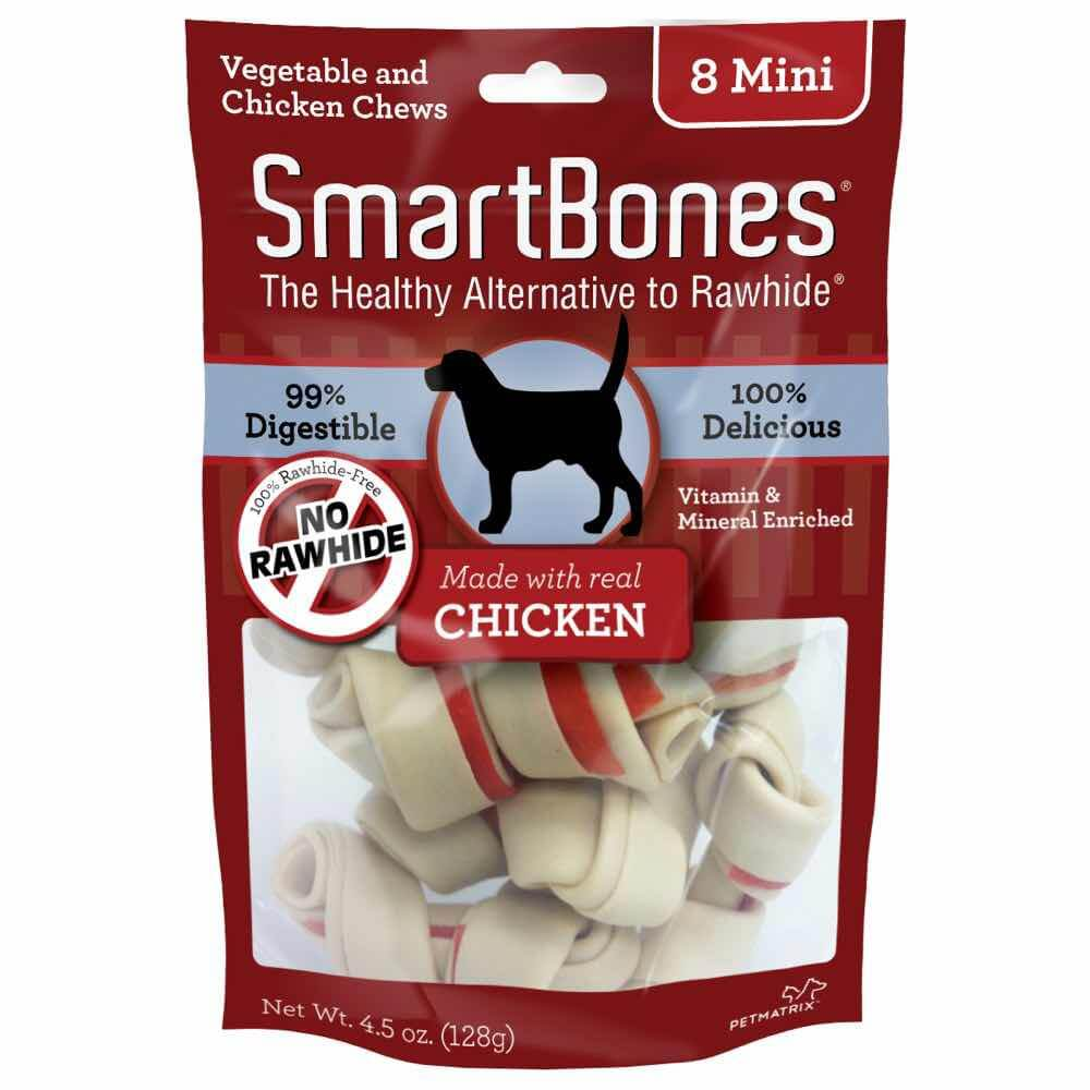 SmartBones Rawhide-free Chicken Dog Chews