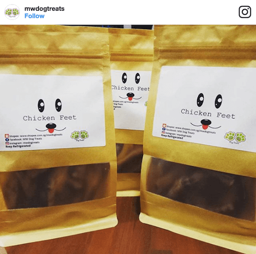MW Dog Treats | Vanillapup