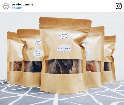 Pawfectly Mine Dog Treats | Vanillapup