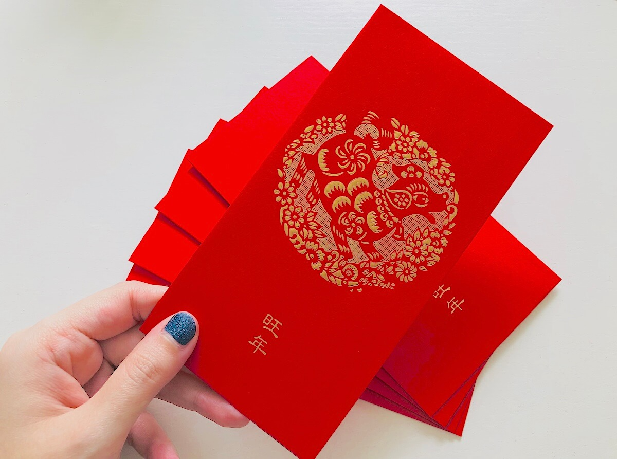 Image result for image of red envelope for 2018