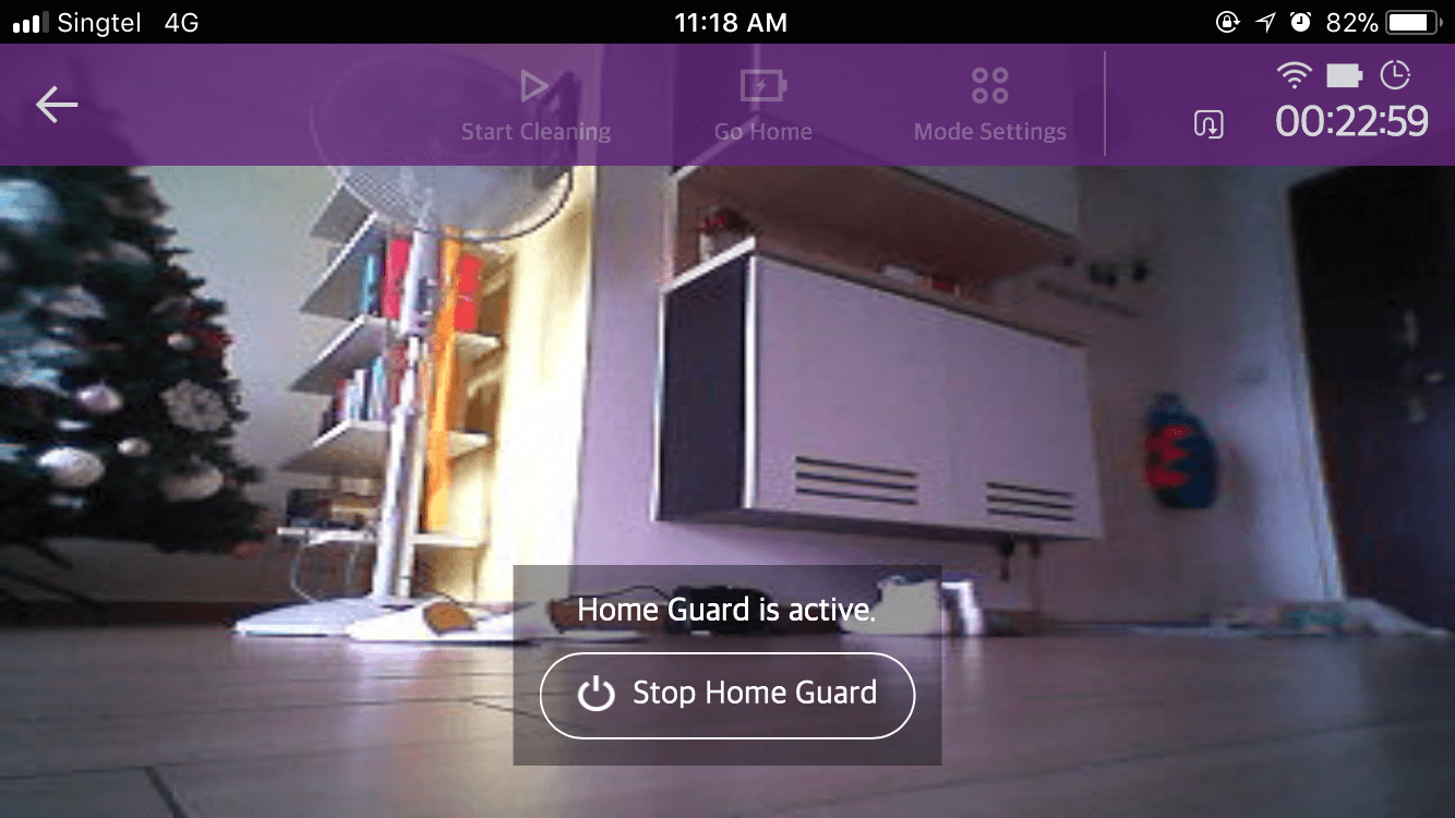 LG Hom-Bot Turbo+ Home Guard View | Vanillapup